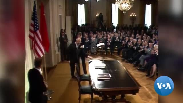 US to Leave INF Arms Control Treaty Signed by Reagan and Gorbachev
