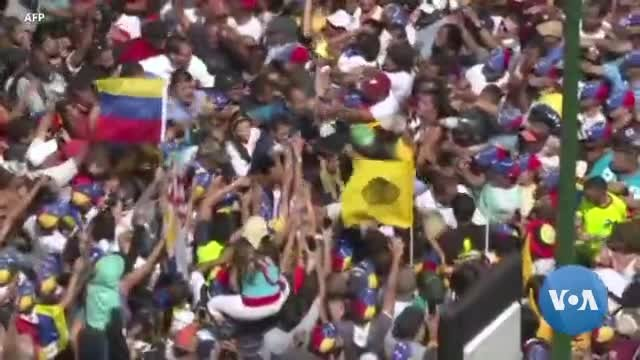 Juan Guaido as Venezuela's Interim President Presses on for Change in Venezuela